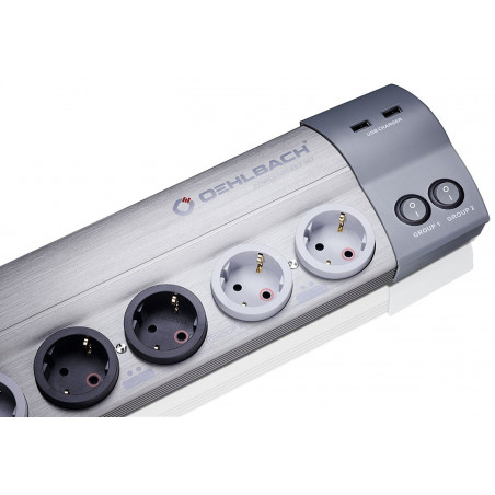 OEHLBACH POWERSOCKET 907 DARK GREY