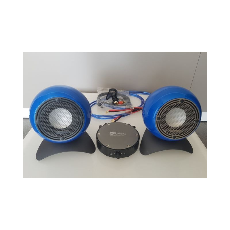 MISSION M-ISPHERE VIVID BLUE - Wireless bluetooth speakers - Audio ... a15dd3a573d0