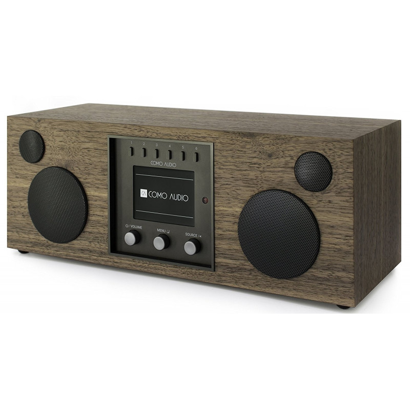 COMO AUDIO DUETTO WALNUT