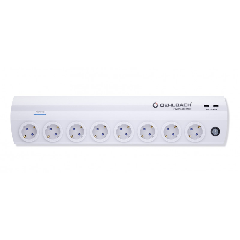 Oehlbach Powersocket 905 white