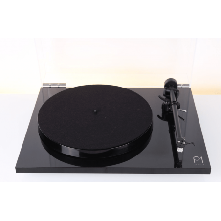 REGA PLANAR 1 PLUS NERO HIGH GLOSS