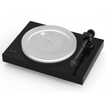 PRO-JECT X2 PICK IT 2M SILVER HIGH GLOSS BLACK