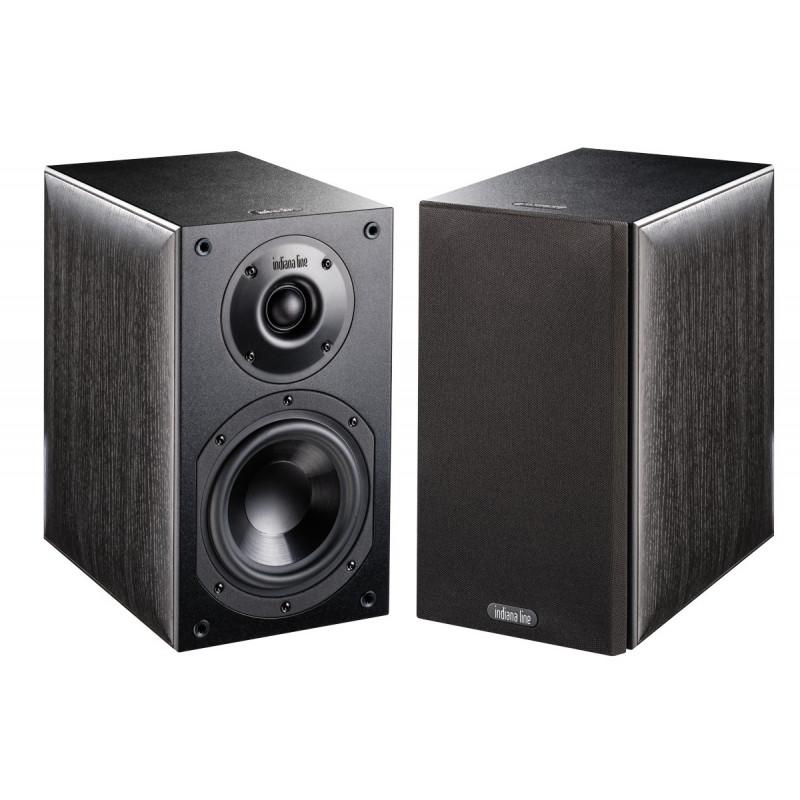Indiana Line Note 250 Xn pair  black speakers