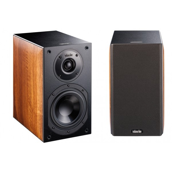 Indiana Line Note 250 Xl pair walnut speakers