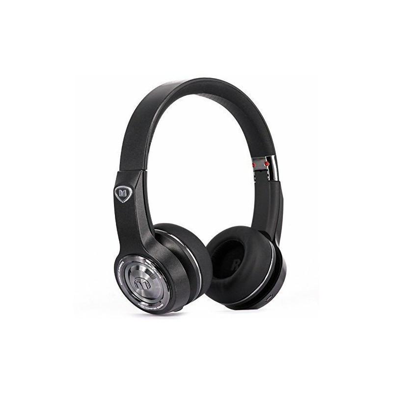 MONSTER ELEMENTS ON EAR WIRELESS BLACK SLATE