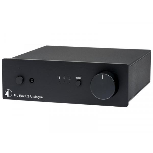 PRO-JECT PRE BOX 2 ANALOGUE BLACK