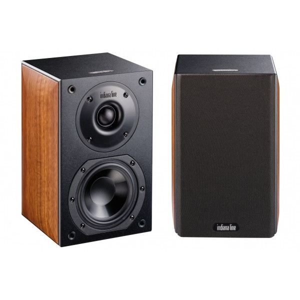 INDIANA LINE NOTE 240 XL PAIR SPEAKERS WALNUT