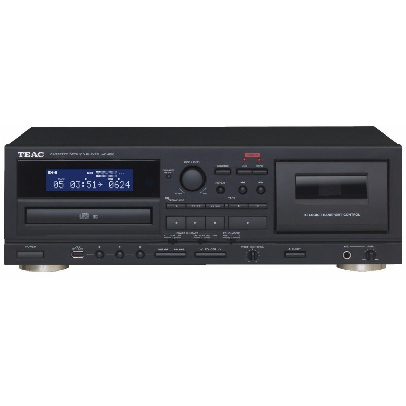 TEAC AD850 TAPE DECK WITH CD WRITER