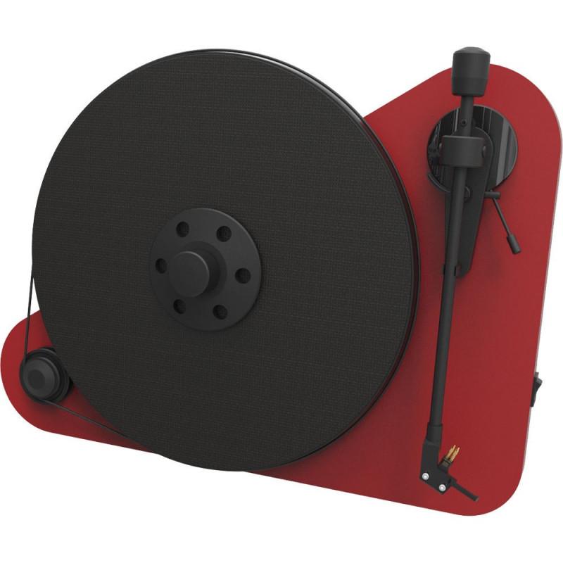 Pro-Ject VT-E BT Ortofon OM5E red